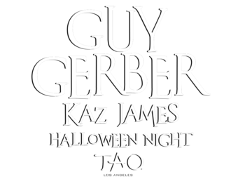 Halloween Night at TAO Los Angeles with Guy Gerber