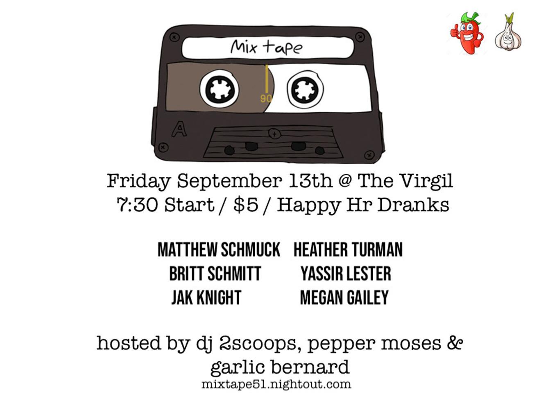 MIXTAPE #51 - Tickets - The Virgil, Los Angeles, CA