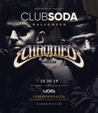 Club Soda Halloween w/ CHROMEO (DJ Set)