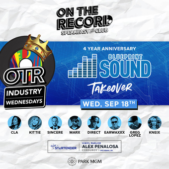 On The Record feat. BLUEPRINT FOUR YEAR ANNIVERSARY
