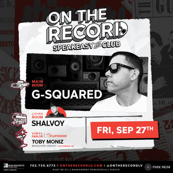 On The Record feat. G-SQUARED