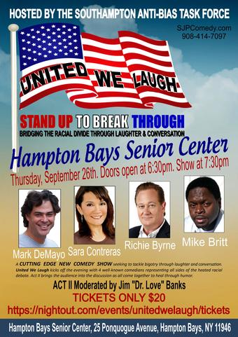 Hampton Bays, NY:  United We Laugh