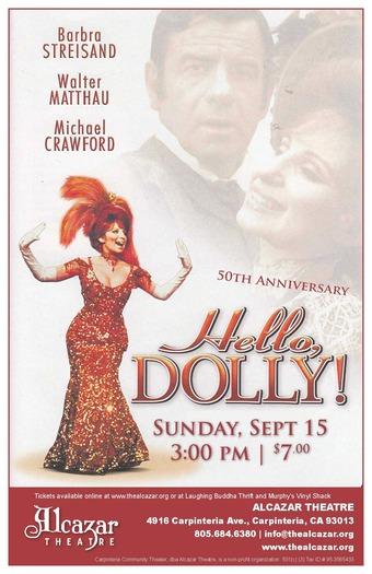 Hello Dolly!  50th Anniversary