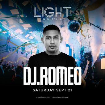 DJ Romeo at LIGHT Vegas