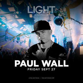 Paul Wall at LIGHT Vegas