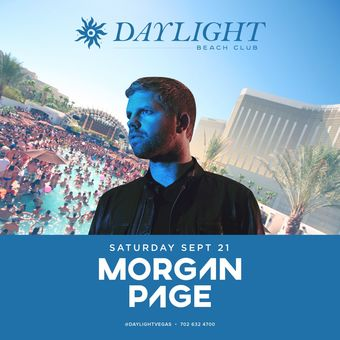 Morgan Page at DAYLIGHT Vegas