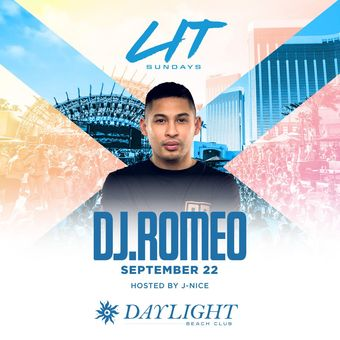 DJ Romeo at DAYLIGHT Vegas