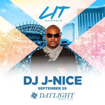 DJ J-Nice at DAYLIGHT Vegas