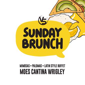"SUNDAY! ""REGGAETON BRUNCH"" @ MOE'S CANTINA (Wrigley)"