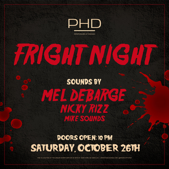 Fright Night Halloween Party at PHD Dream Downtown