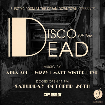 Disco of the Dead Halloween Party at Electric Room Dream Downtown