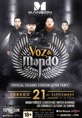 Voz de Mando at Mansion Nightclub