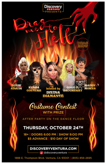 Drag Me To Hell - Drag Show at Discovery Ventura