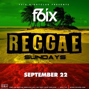 F6ix Presents Reggae Sundays