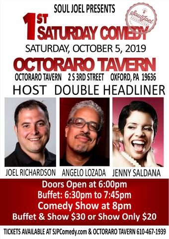 Oxford, PA: 1st Saturday Comedy