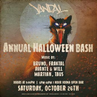 Annual Halloween Bash at Vandal