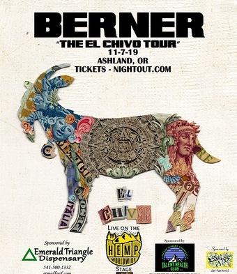 Rae Rock Presents Berner's El Chivo Tour