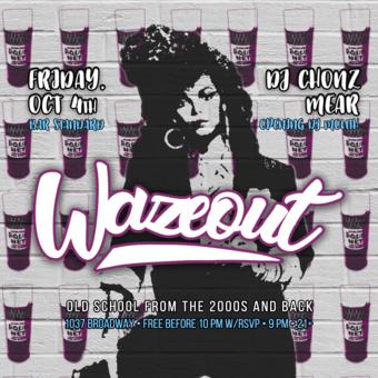 Wazeout at Bar Standard