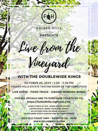 Live from the Vineyard with the Doublewide Kings