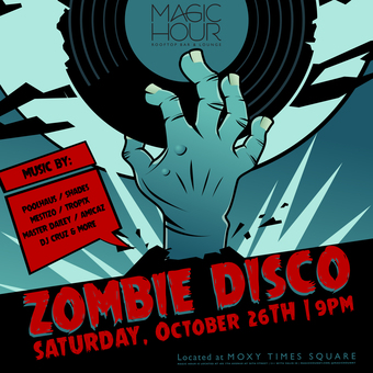 Zombie Disco Halloween Party at Magic Hour
