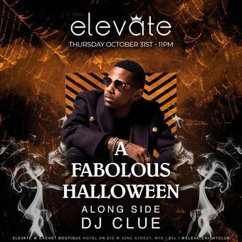 A Fabolous Halloween @ Elevate Nightclub - Thursday 10/31