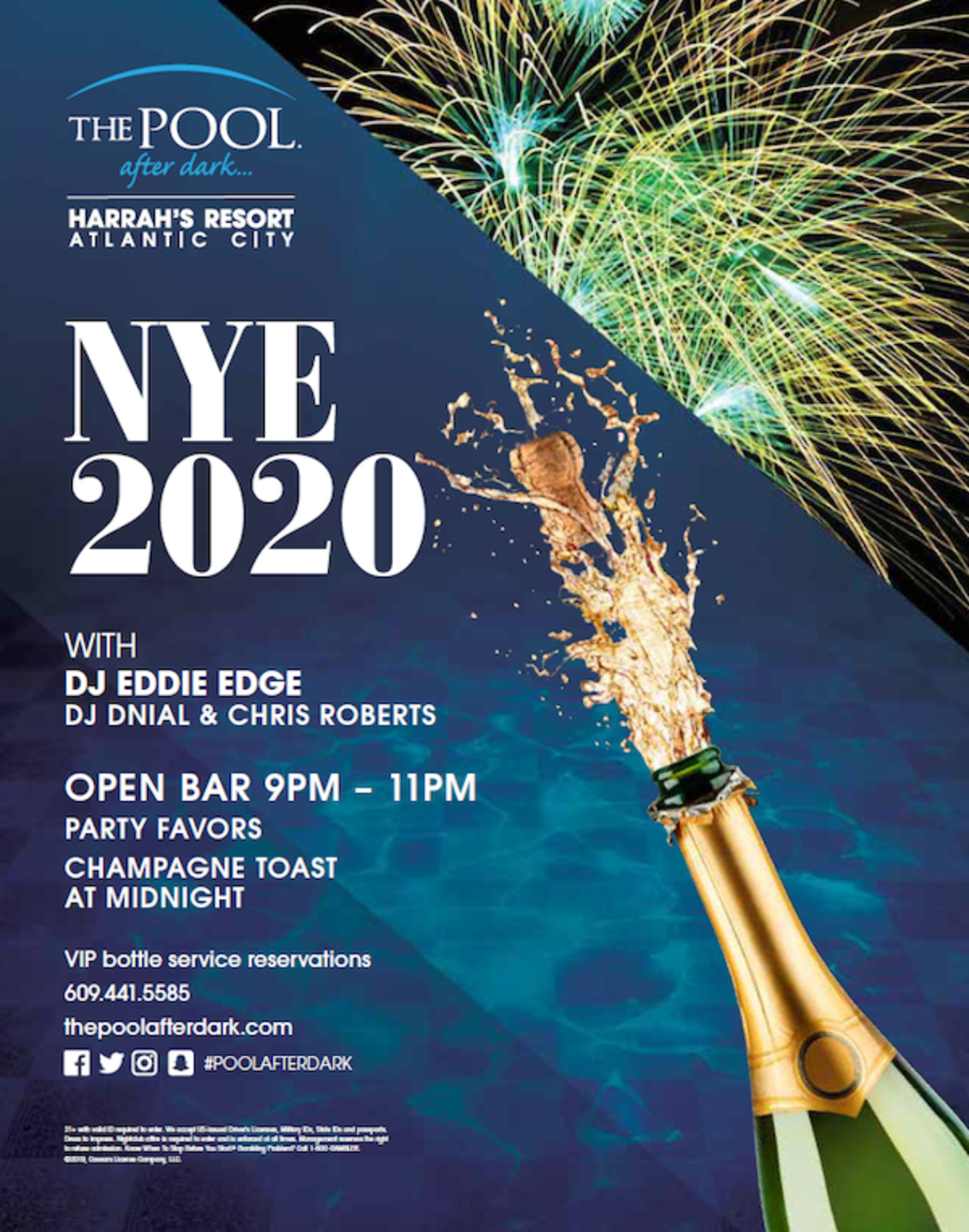 Austin New Years Eve 2020.New Years Eve 2020 Tickets The Pool After Dark Atlantic