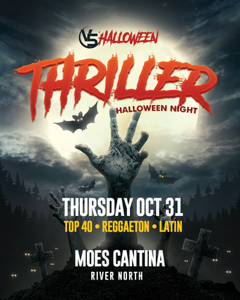 """""""Thriller"""" @ Moes Cantina (River North)"""