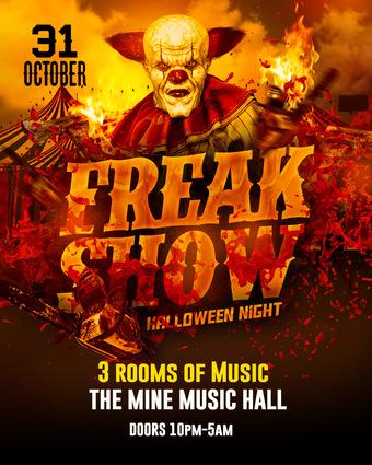 """The Freak Show"" @ The Mine Music Hall"