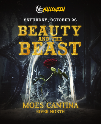 """""""Beauty and the Beast"""" @ Moe's Cantina (River North)"""