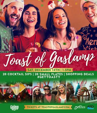 Toast of Gaslamp