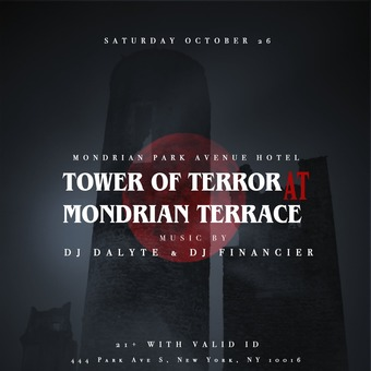 Tower Of Terror - Halloween at Mondrian Park Rooftop
