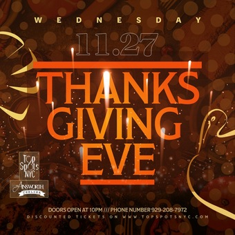 Thanksgiving Eve @ Ainsworth Chelsea
