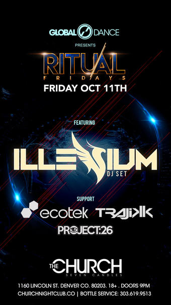 Ritual Fridays: Illenium After Party