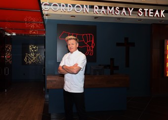 Gordon Ramsay Wild Game Dinner