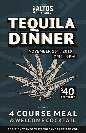 Altos Tequila Dinner