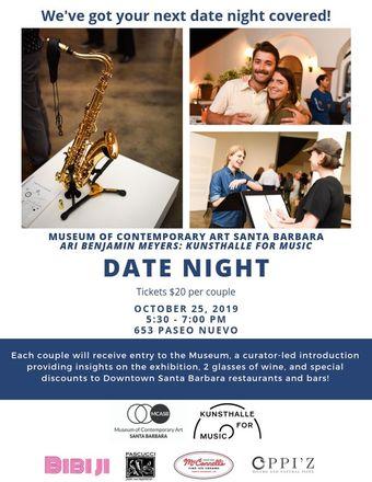 Date Night at Museum of Contemporary Art Santa Barbara