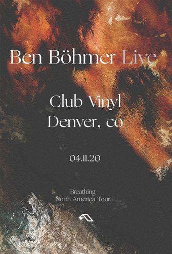 Ben Böhmer 'Breathing Tour'