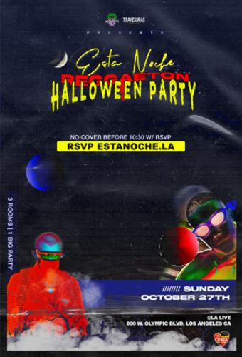 Esta Noche - Halloween Weekend Edition