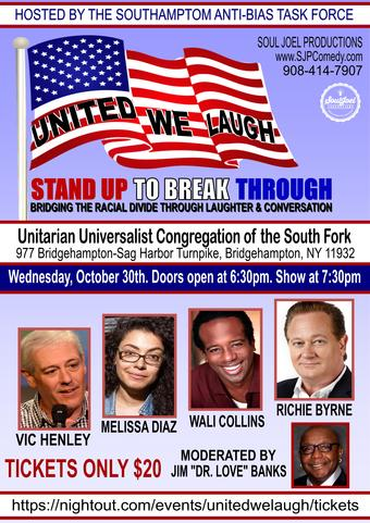 Bridgehampton, NY:  United We Laugh