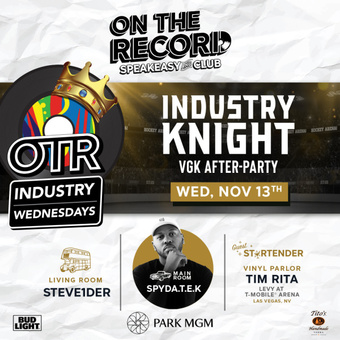 On The Record feat. INDUSTRY KNIGHTS WITH SPYDATEK