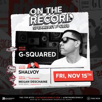 On The Record feat. G SQUARED