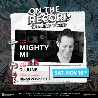 On The Record feat. MIGHTY MI