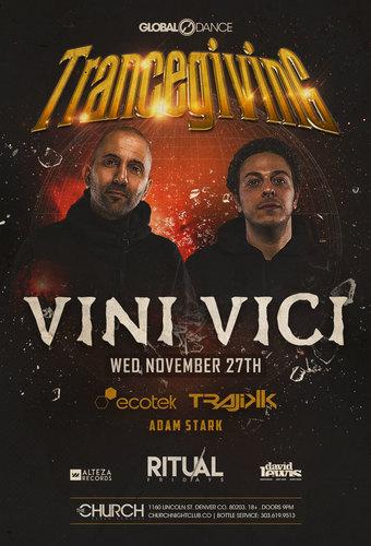 Trancegiving 2019: Vini Vici
