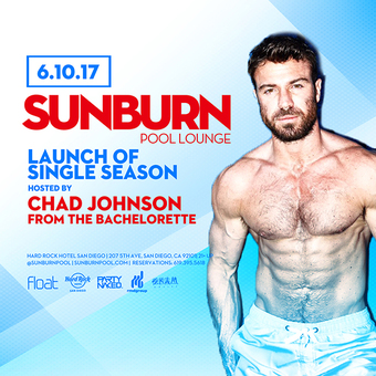 SUNBURN Pool hosted by Chad Johnson