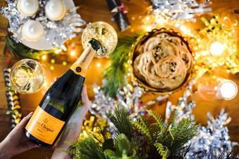 Veuve Clicquot New Year's Eve Wine Dinner + Concert