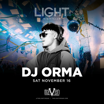 DJ Orma at LIGHT Vegas