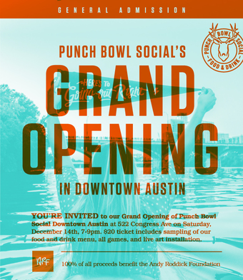 Punch Bowl Social Austin Downtown Grand Opening