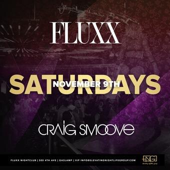 Saturdays at FLUXX w/ Craig Smoove