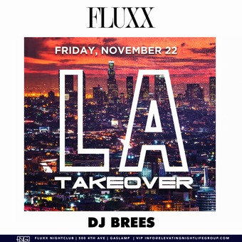 Fridays at FLUXX w/ Brees