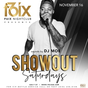 Saturdays at F6ix